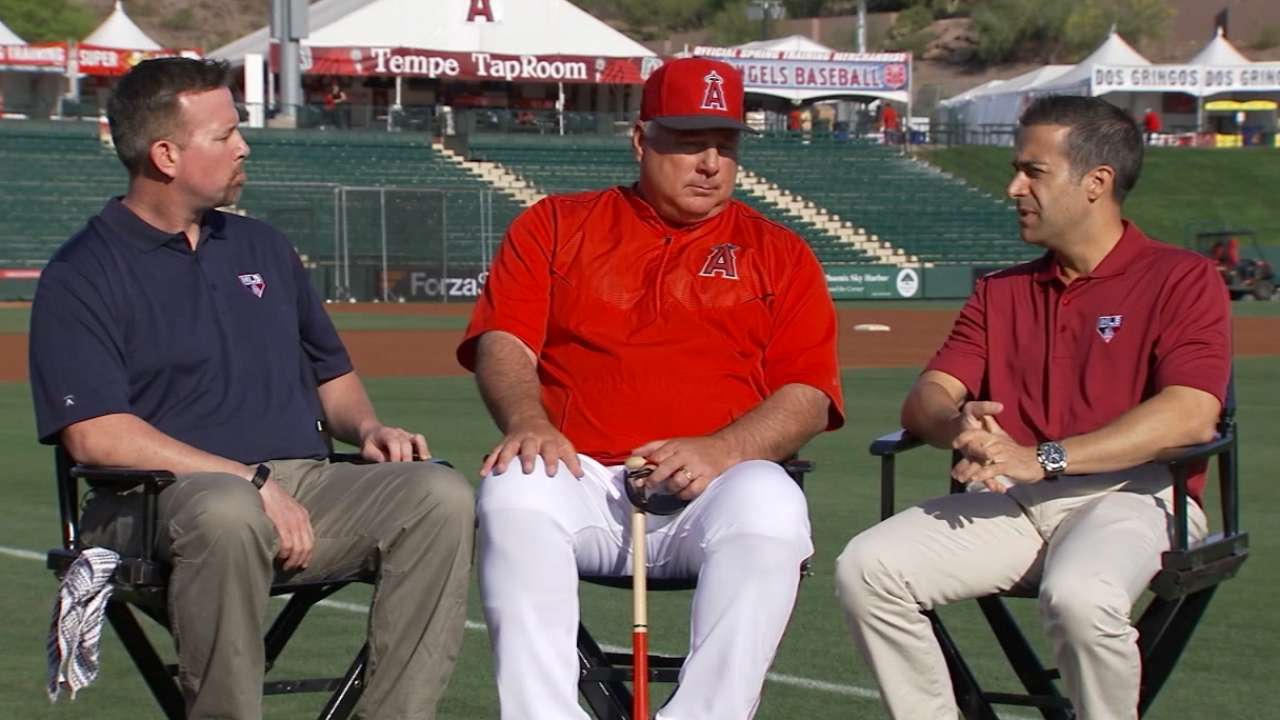 Scioscia energized with gang reunited