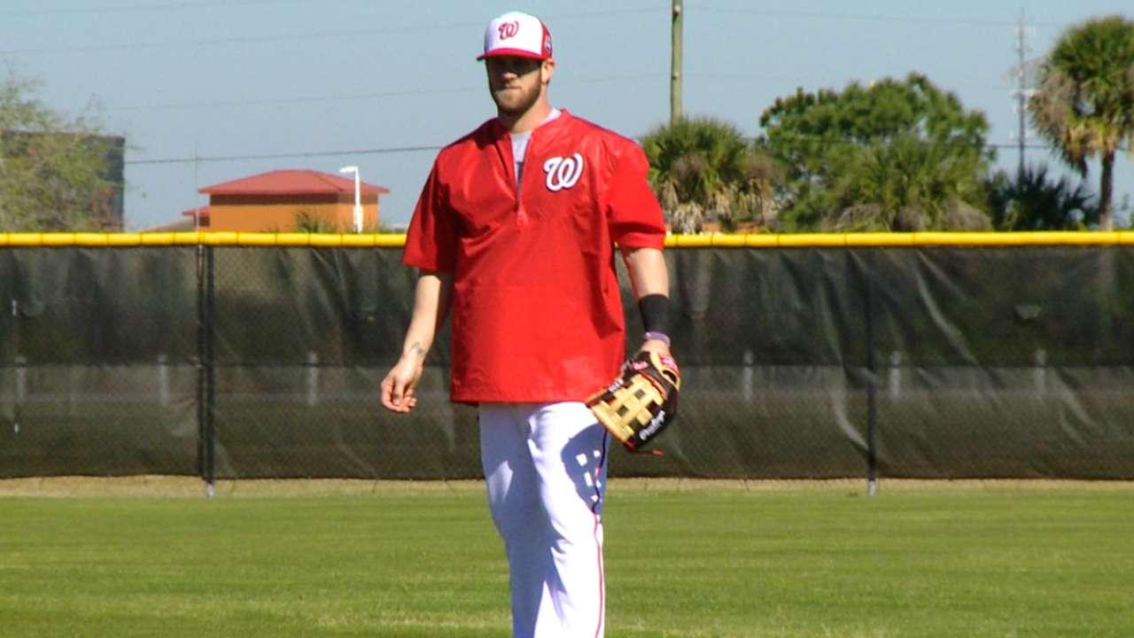 Harper on passion for baseball