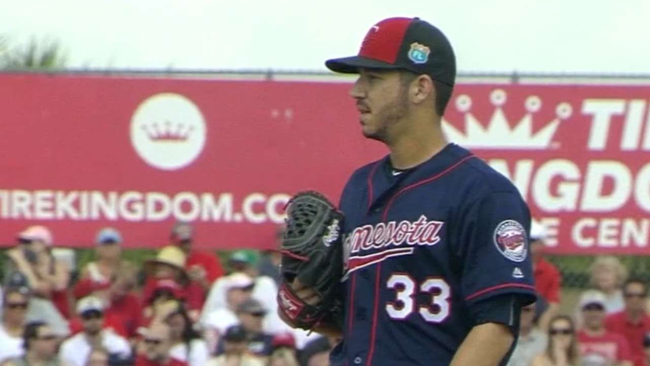 Milone officially part of Twins' rotation