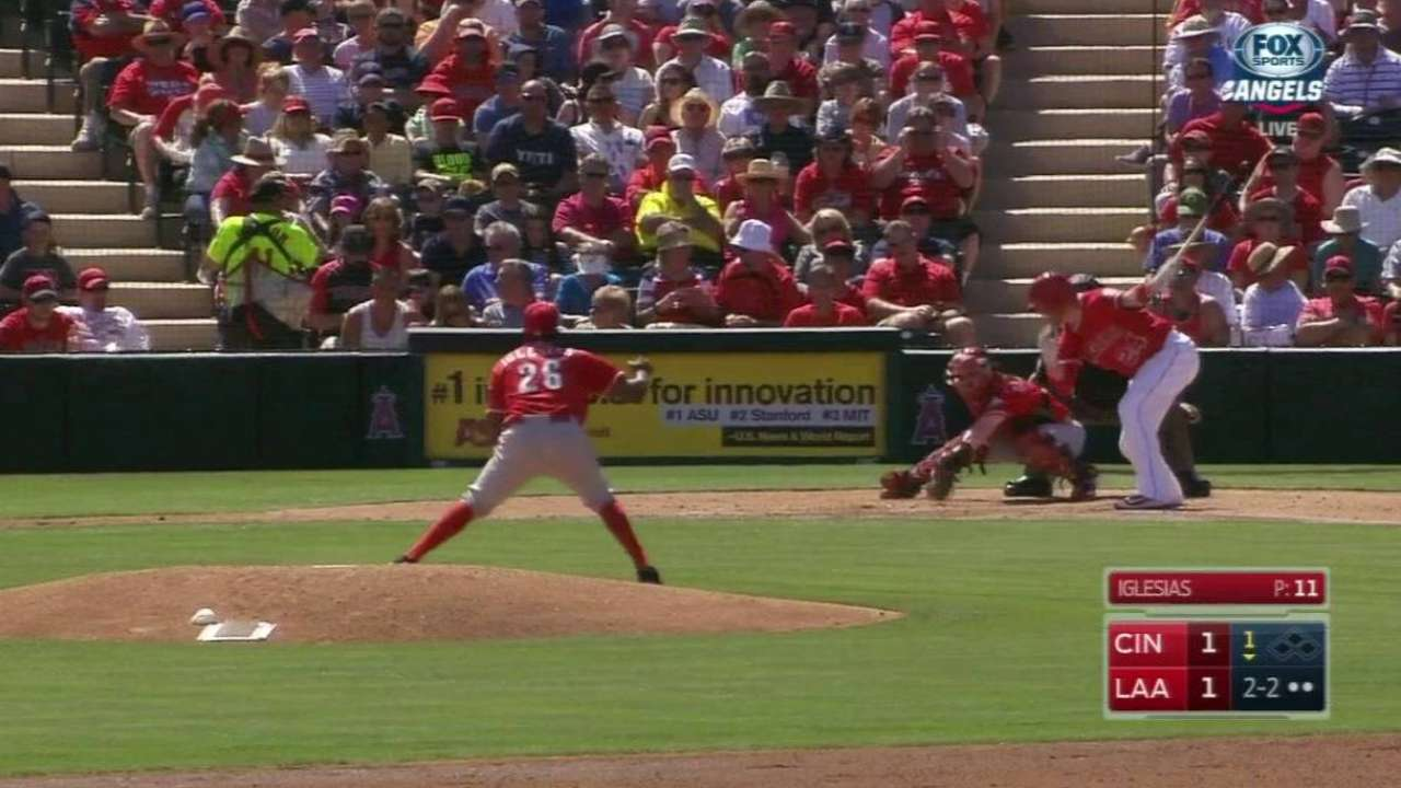 Iglesias strikes out Cron