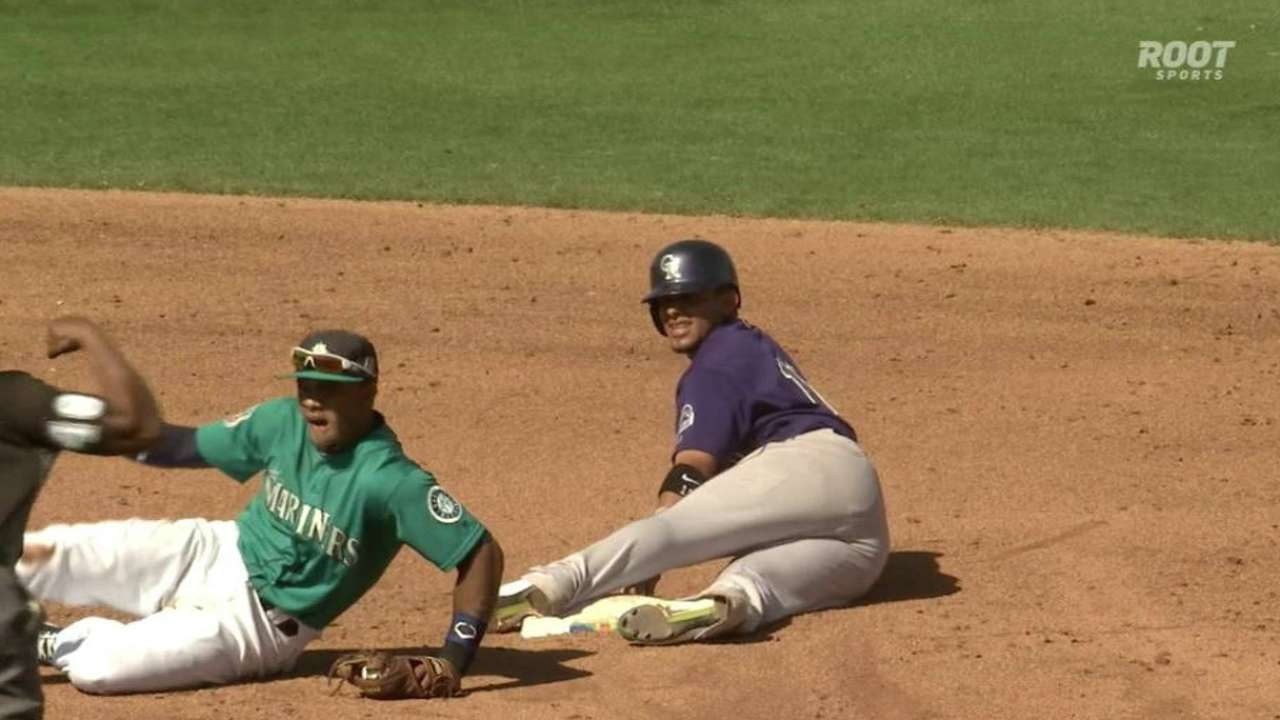 Crash course for Brantly with Mariners