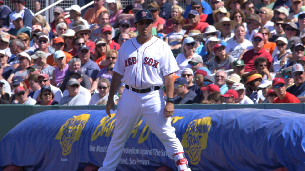 Amaro Jr. relishing new role with Red Sox