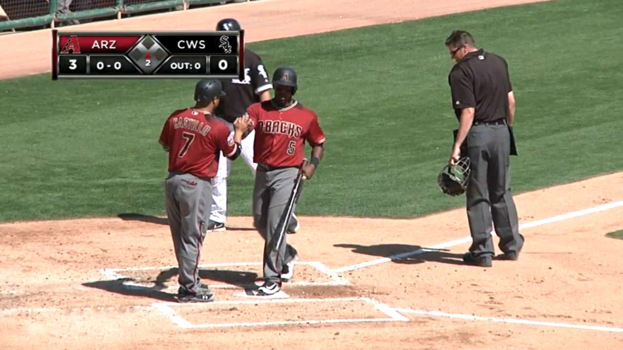 O'Brien hits 2 HRs to carry D-backs over White Sox