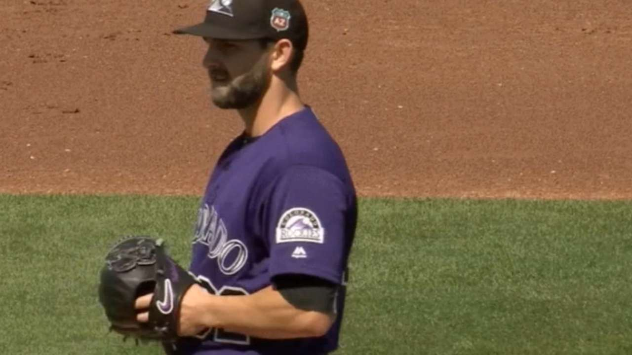 Chatwood throws three innings