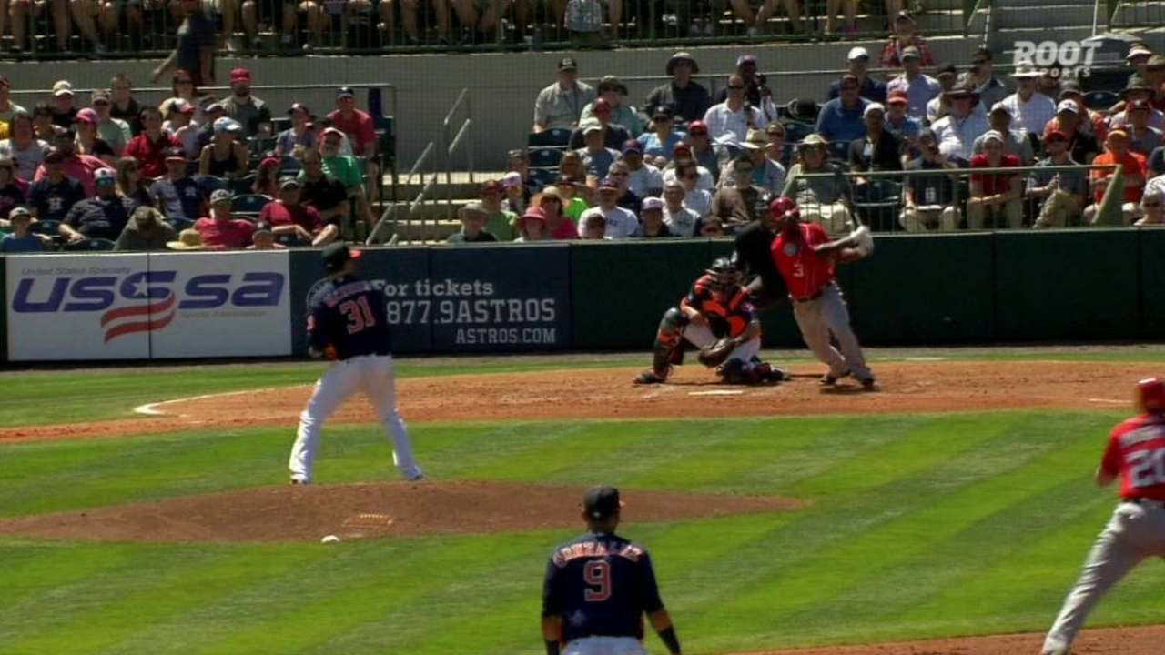 Nats' Taylor has Miami's number with another homer