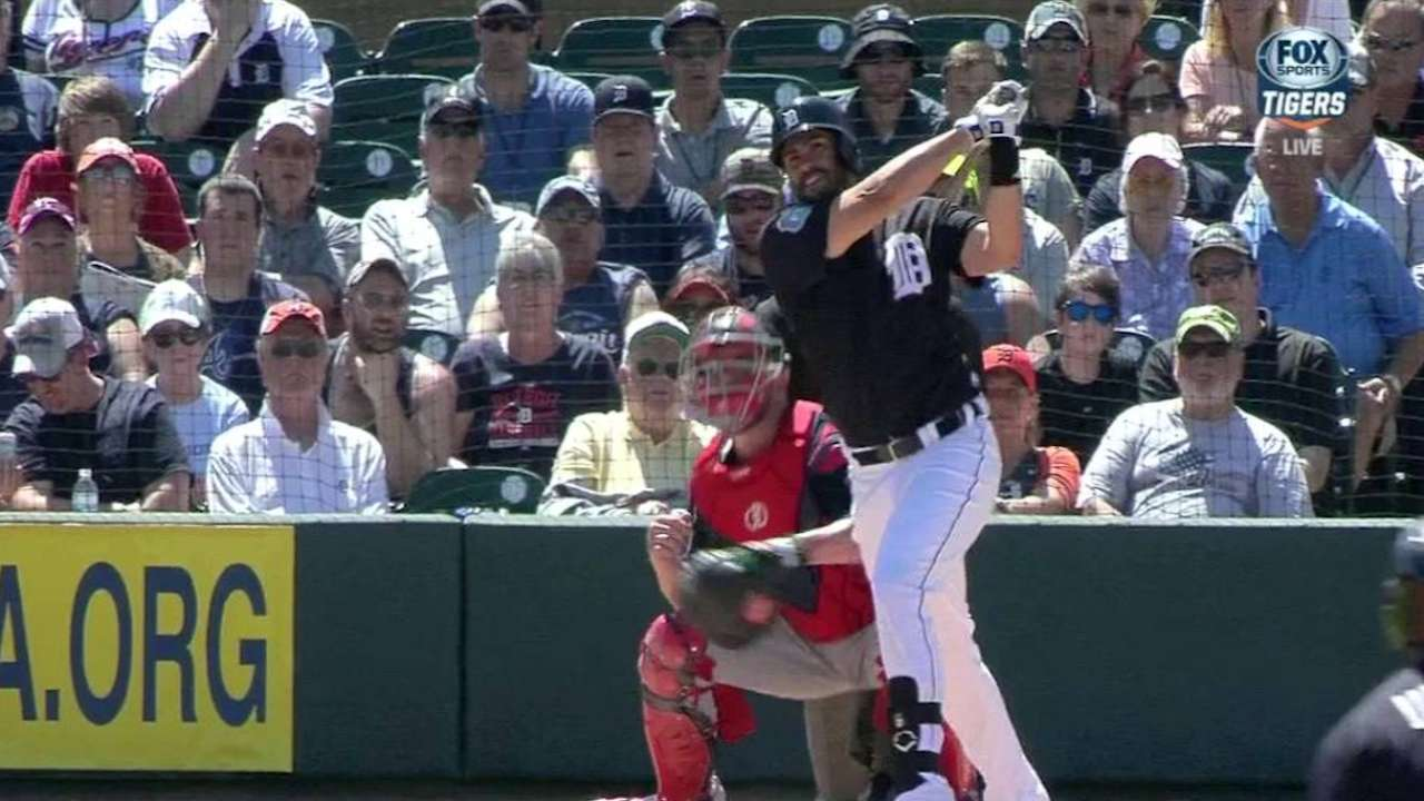 J.D. doesn't put stock in spring homers