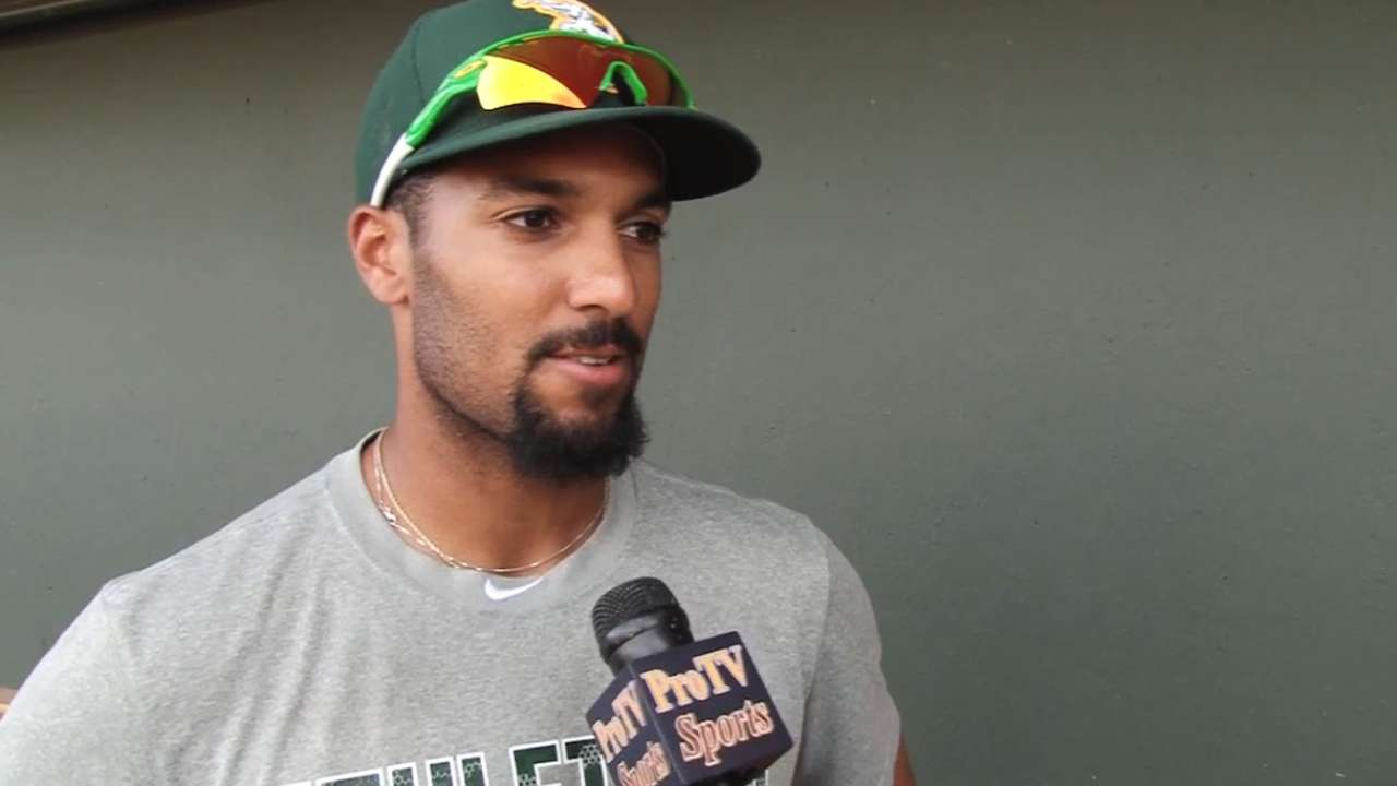 Semien focused on becoming all-around star
