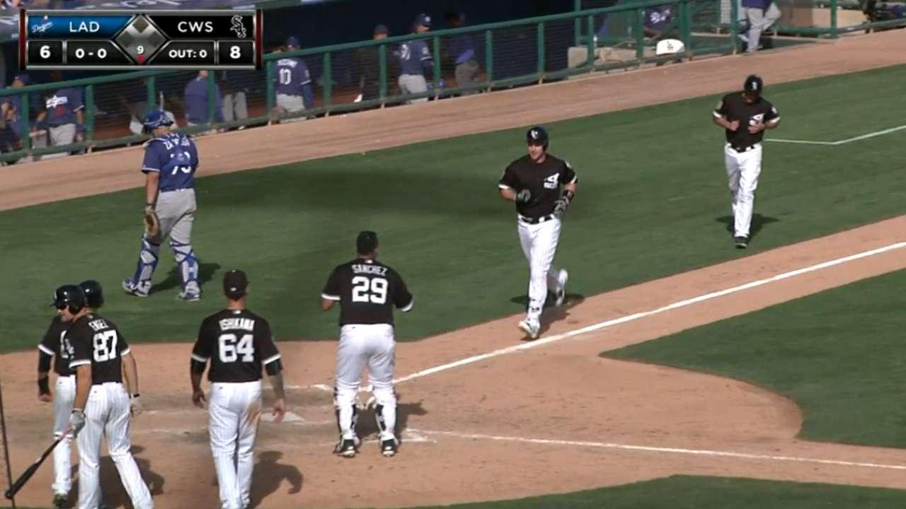 Davidson's two-homer night