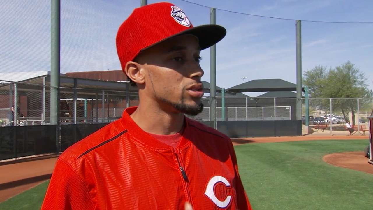 Hamilton focused on 'getting more at-bats'