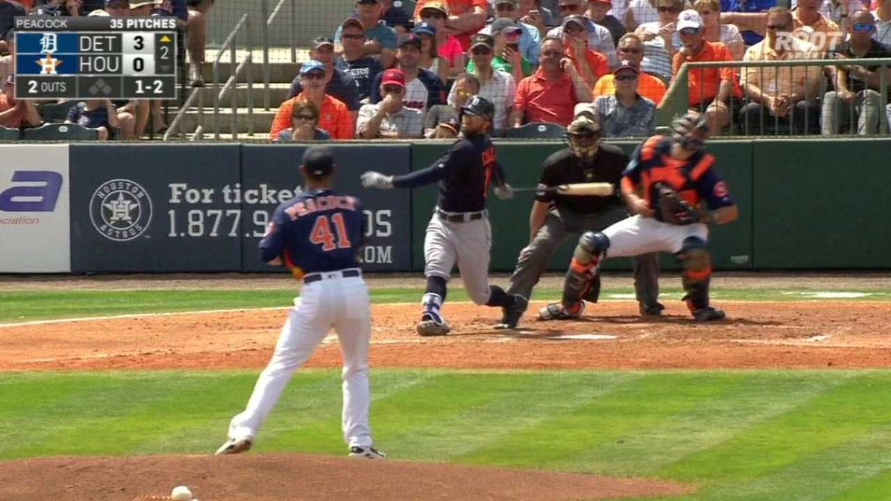 Peacock hits speed bump in second inning
