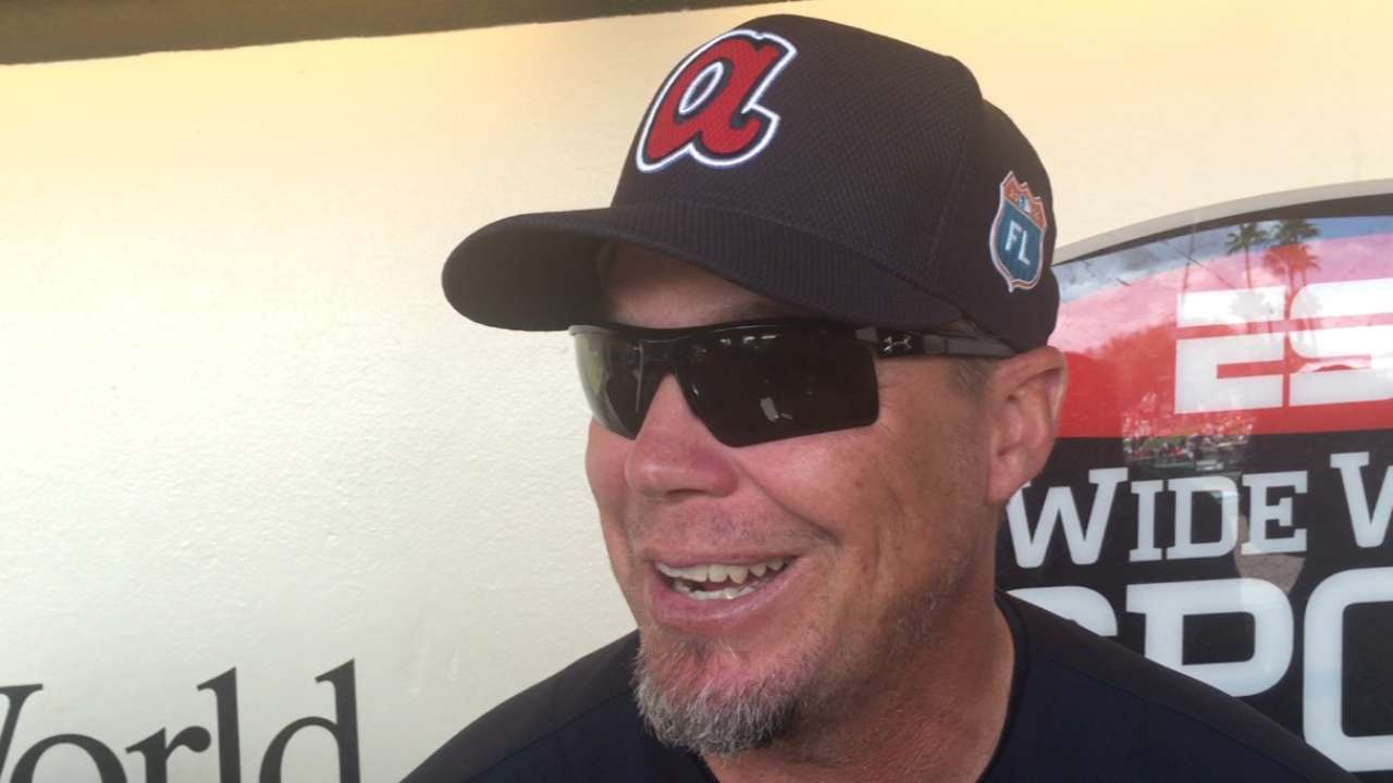 Chipper prefers front office over coaching