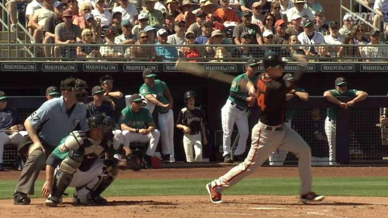 Brown's two-run single