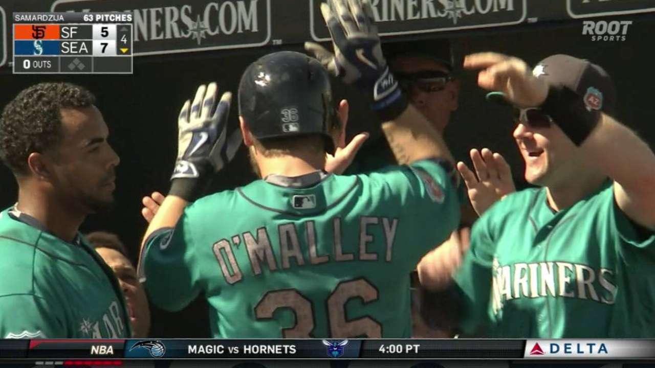 O'Malley's home run