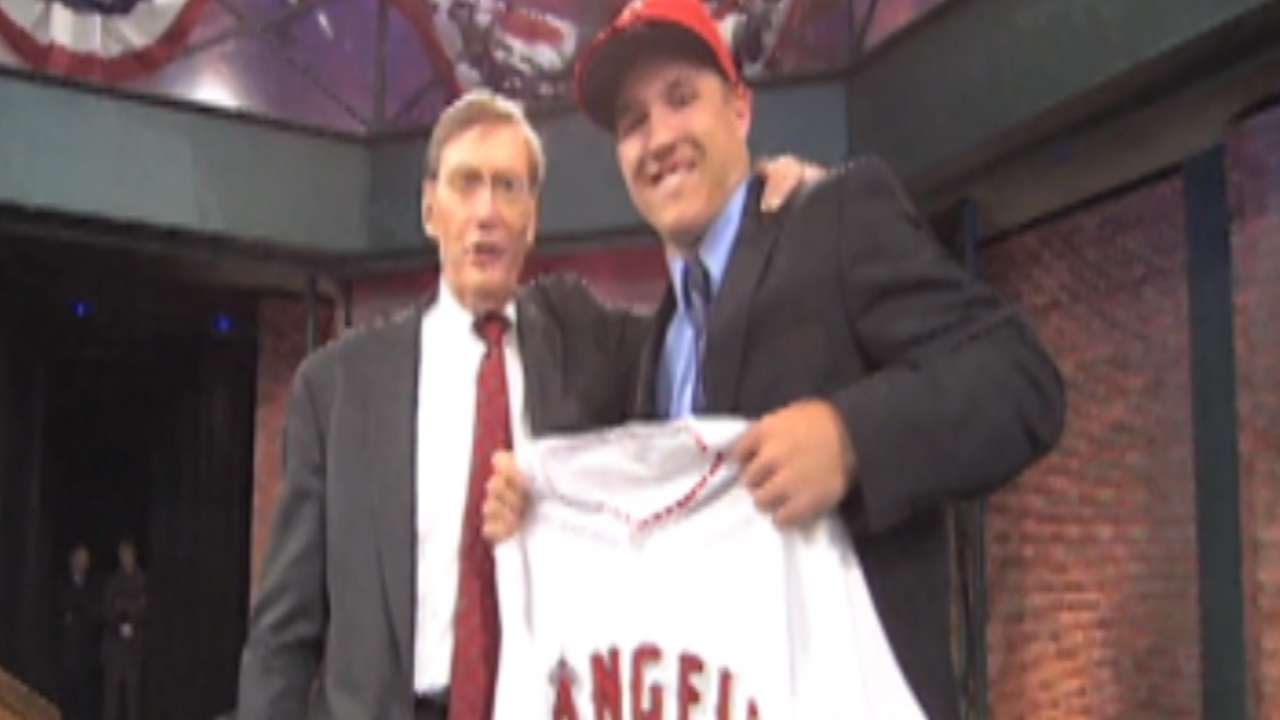LAA Second Pick: Trout