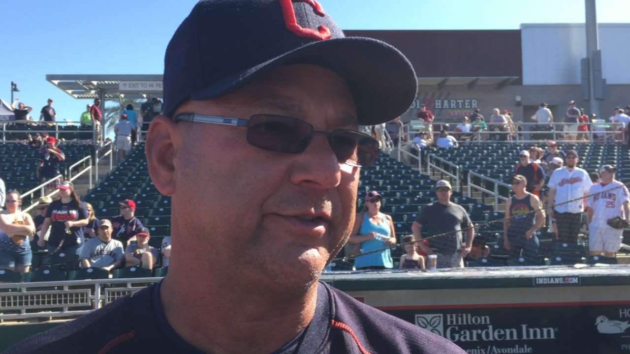 Francona on Anderson's outing