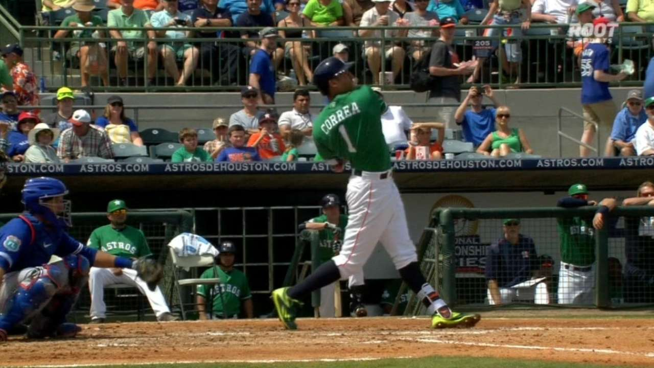 Correa's two-run homer