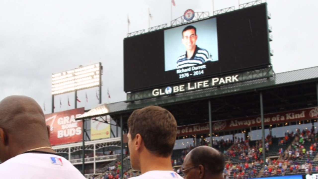 Late sportswriter Durrett missed at Rangers camp