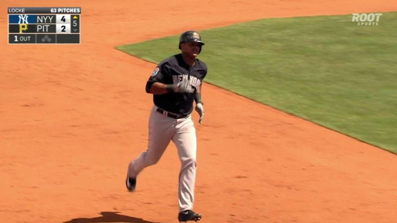 Starlin shows power potential with deep blast