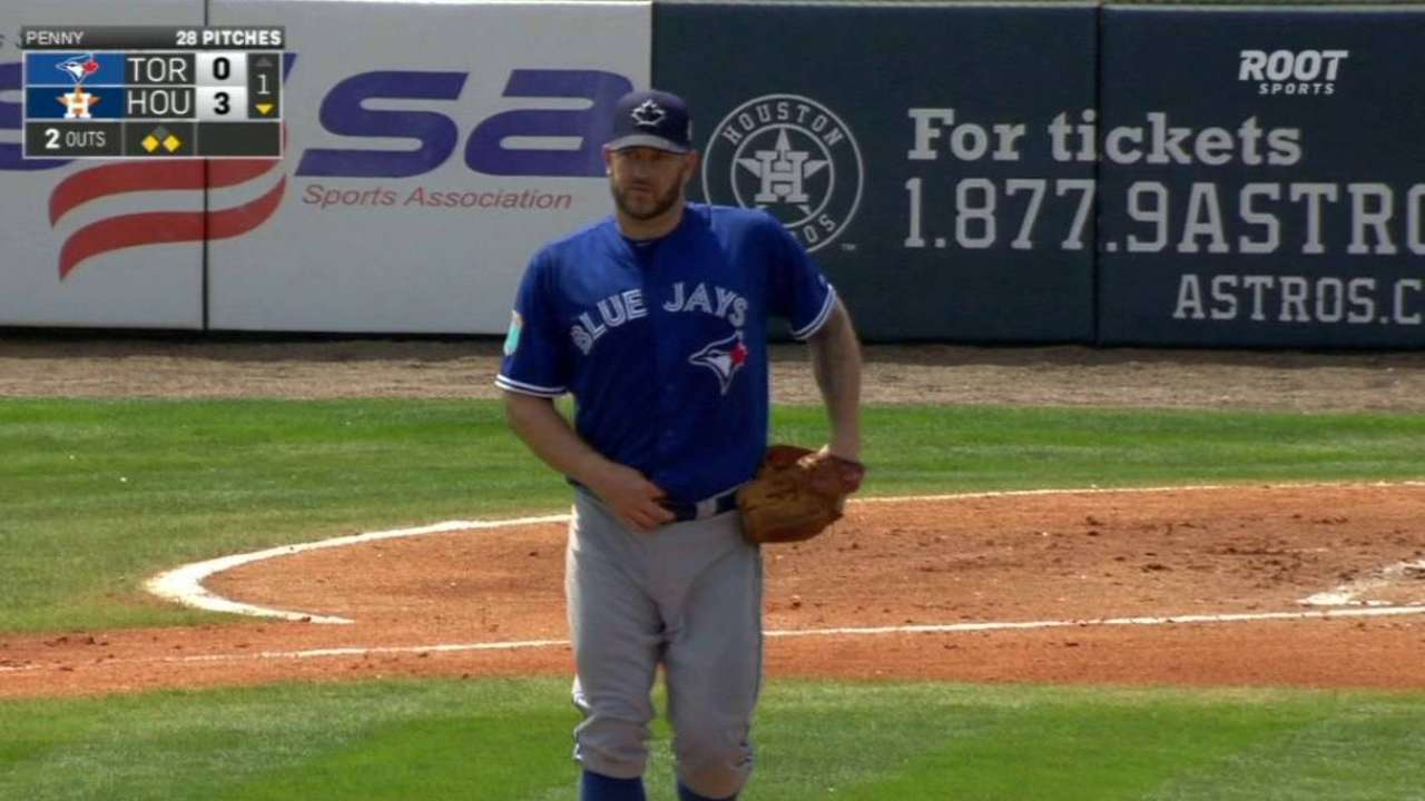 Penny calls it a career at Blue Jays camp