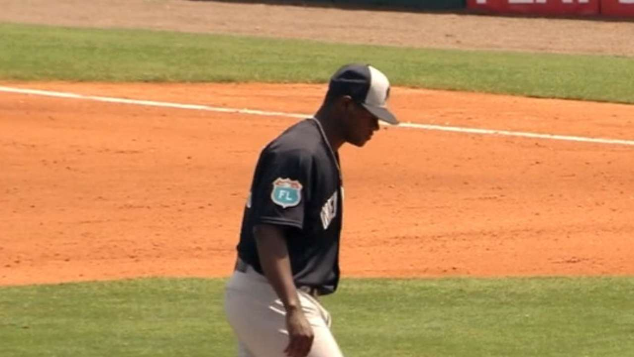 Severino's four scoreless frames