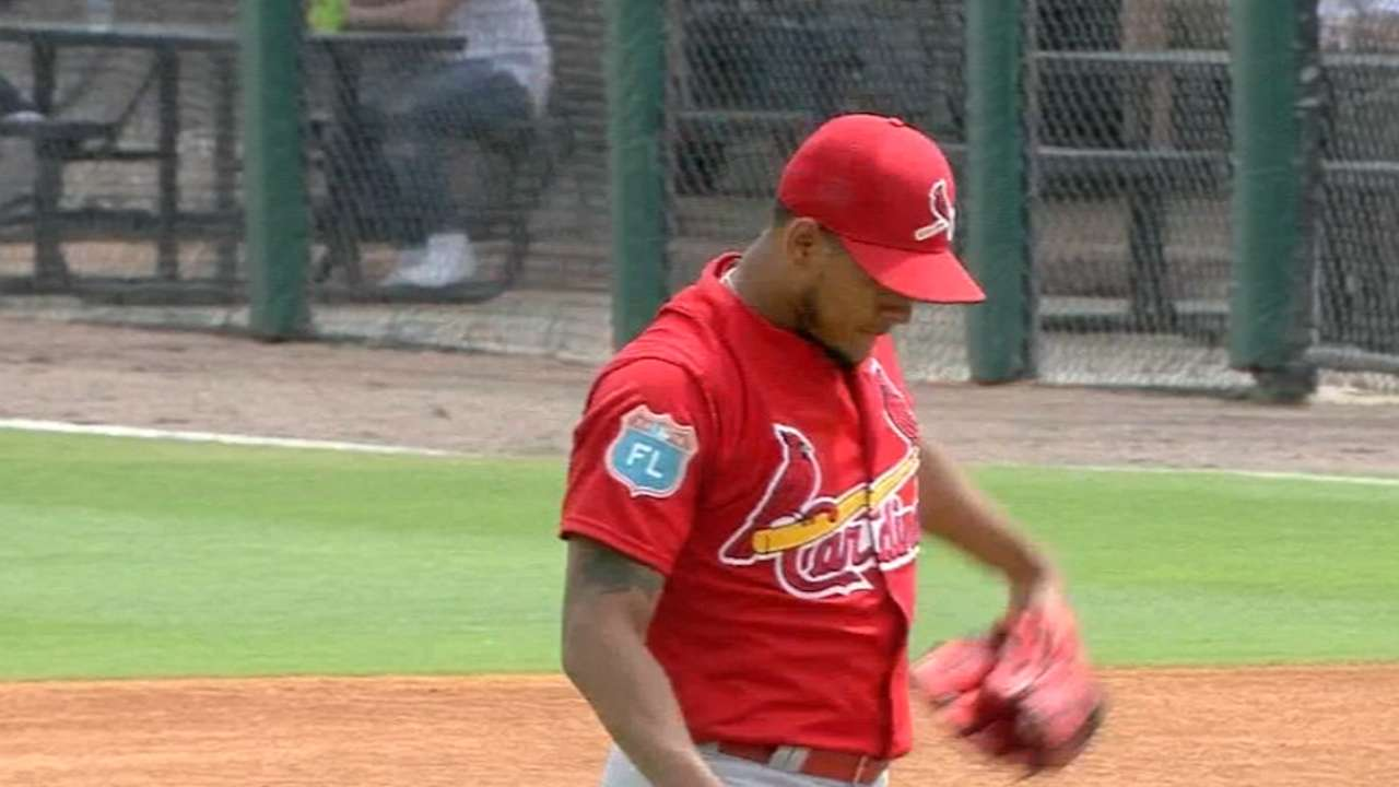 Cards appear to have starting rotation lined up