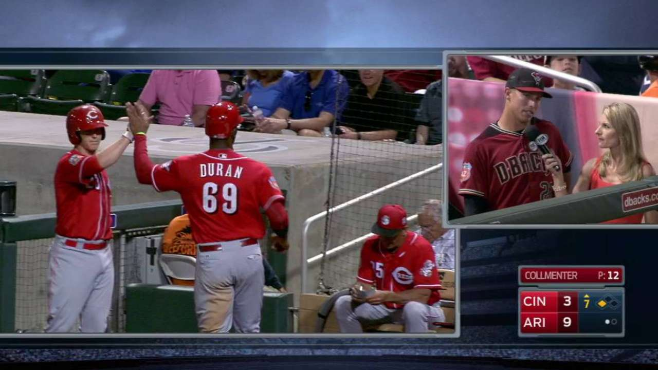 Peraza's RBI triple