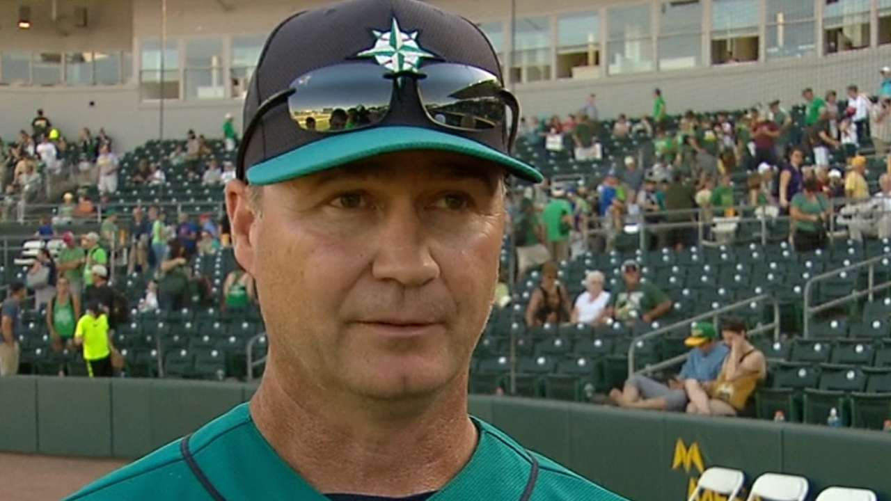 Servais on wild game vs. A's