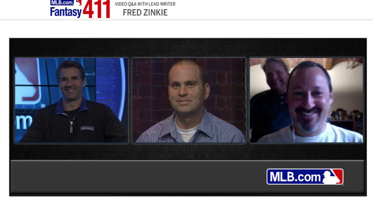 Fantasy 411 with Fred Zinkie