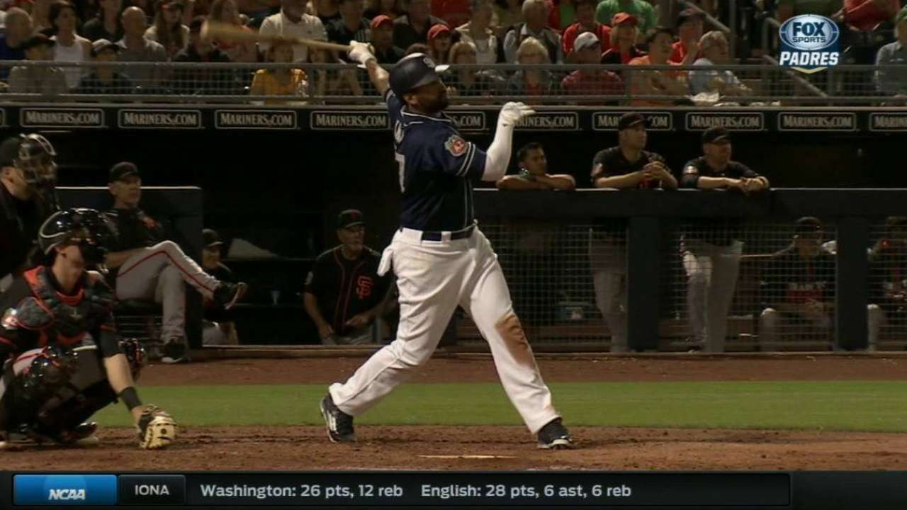 Kemp's solo shot