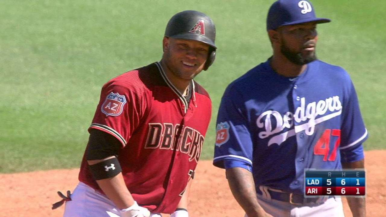 Castillo's two-run double