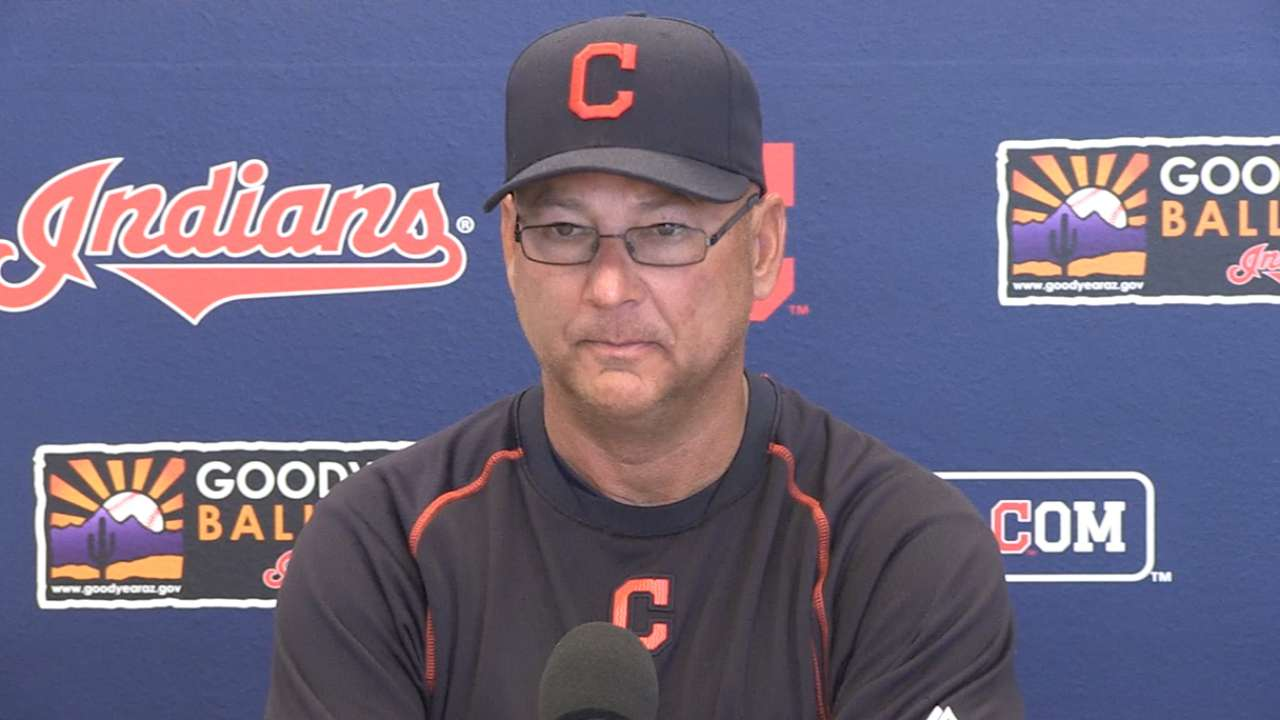 Byrd to compete for job in Tribe's crowded OF