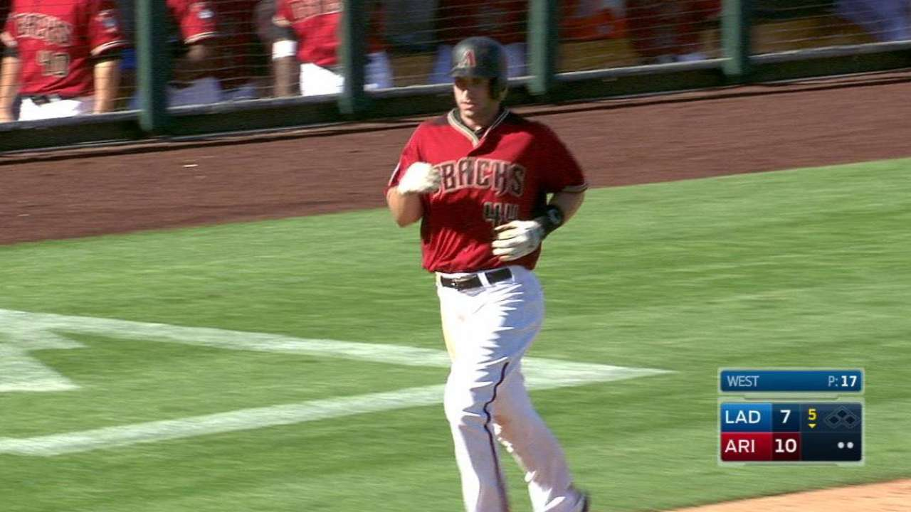 Goldy powers out first spring HR in victory