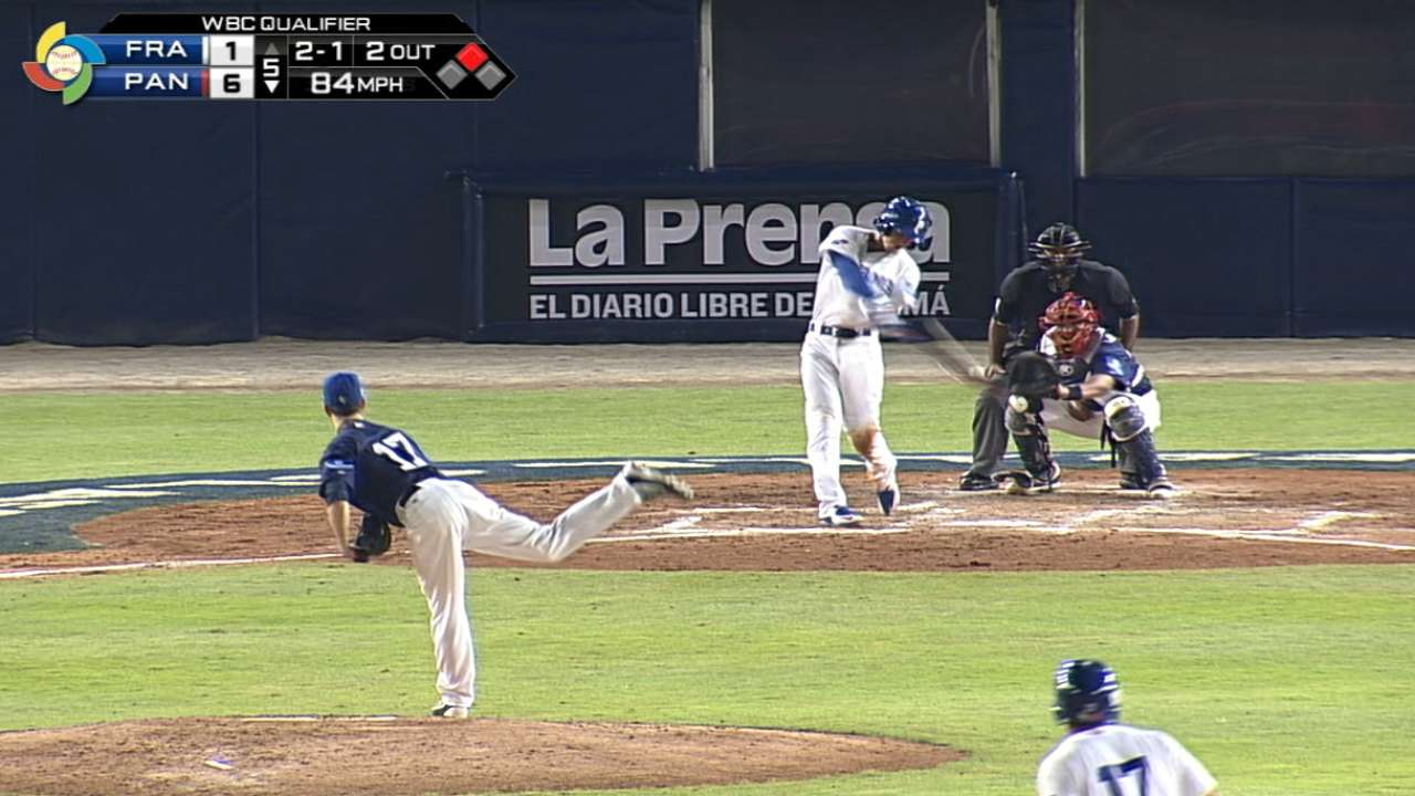 Guerra's homer drives in two