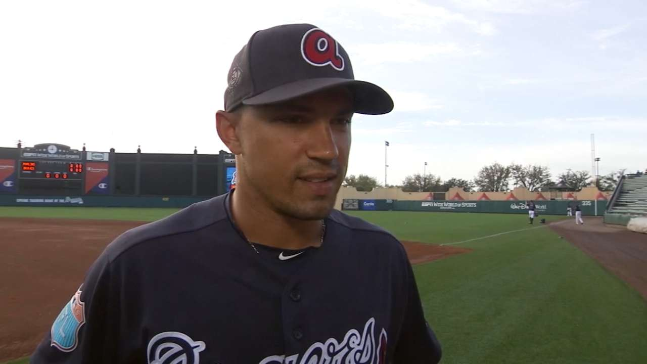 Peterson on Braves' energy