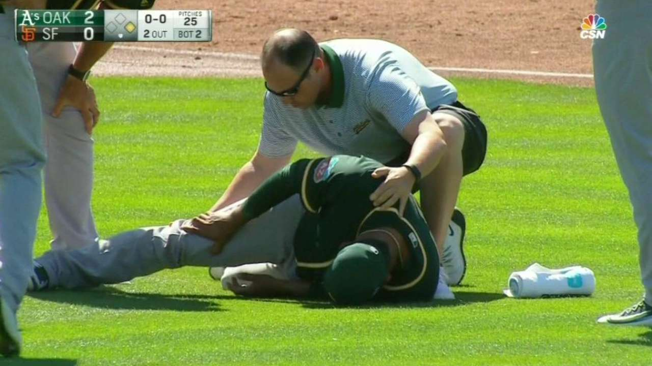 Doubront gets hit in the leg