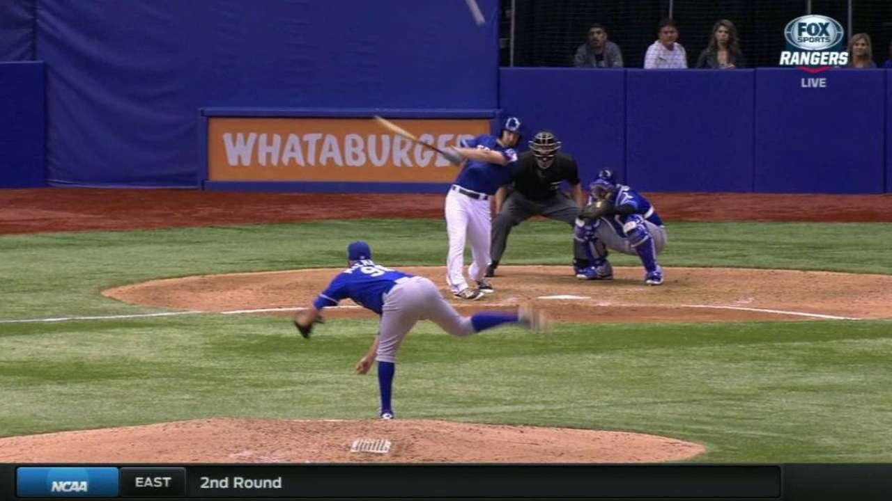 Hoying's two-run shot