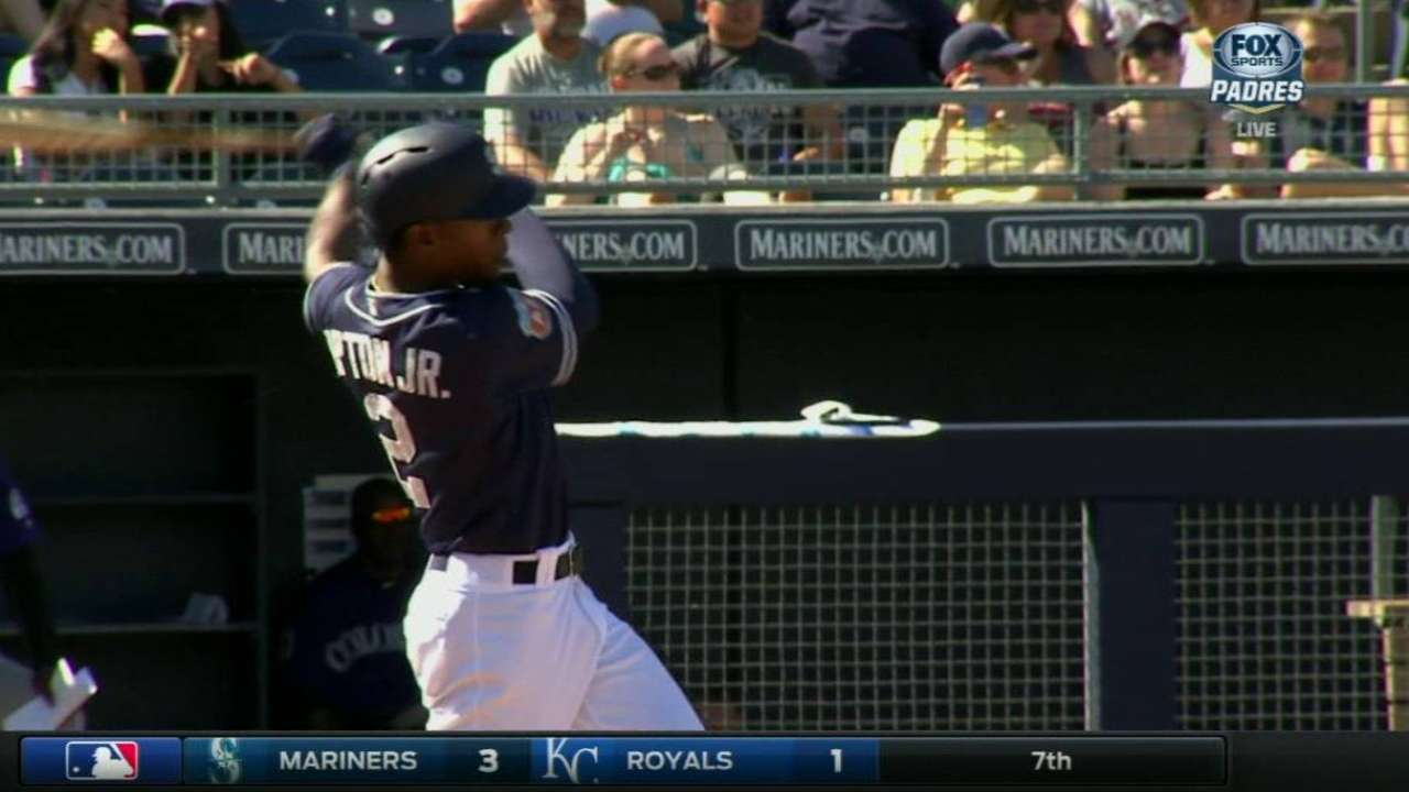Upton Jr.'s RBI double