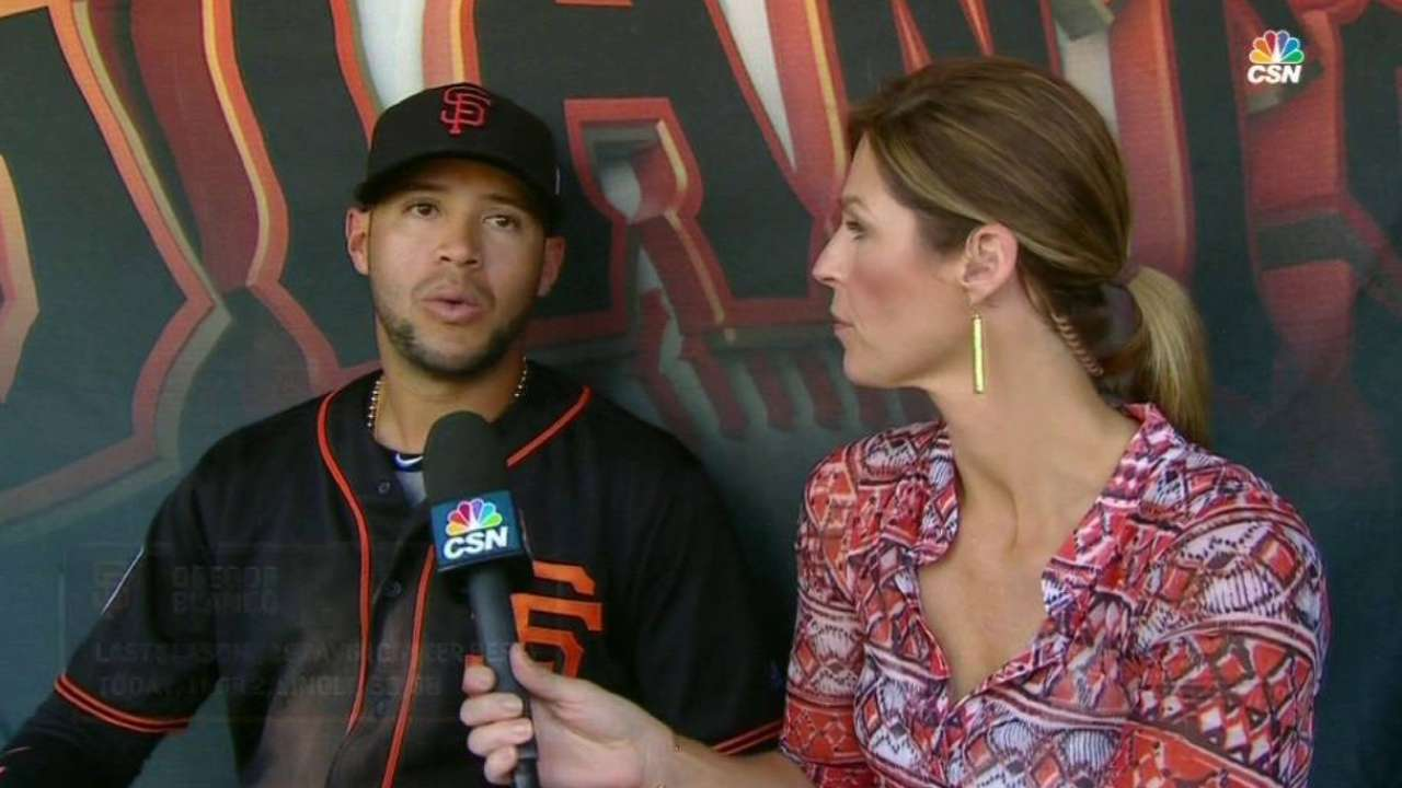 Blanco talks injury recovery