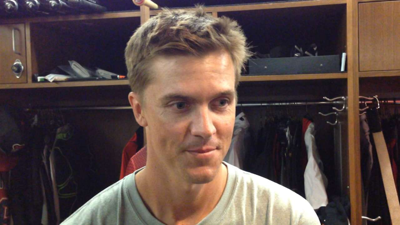 Greinke's next start will be in Minor League game