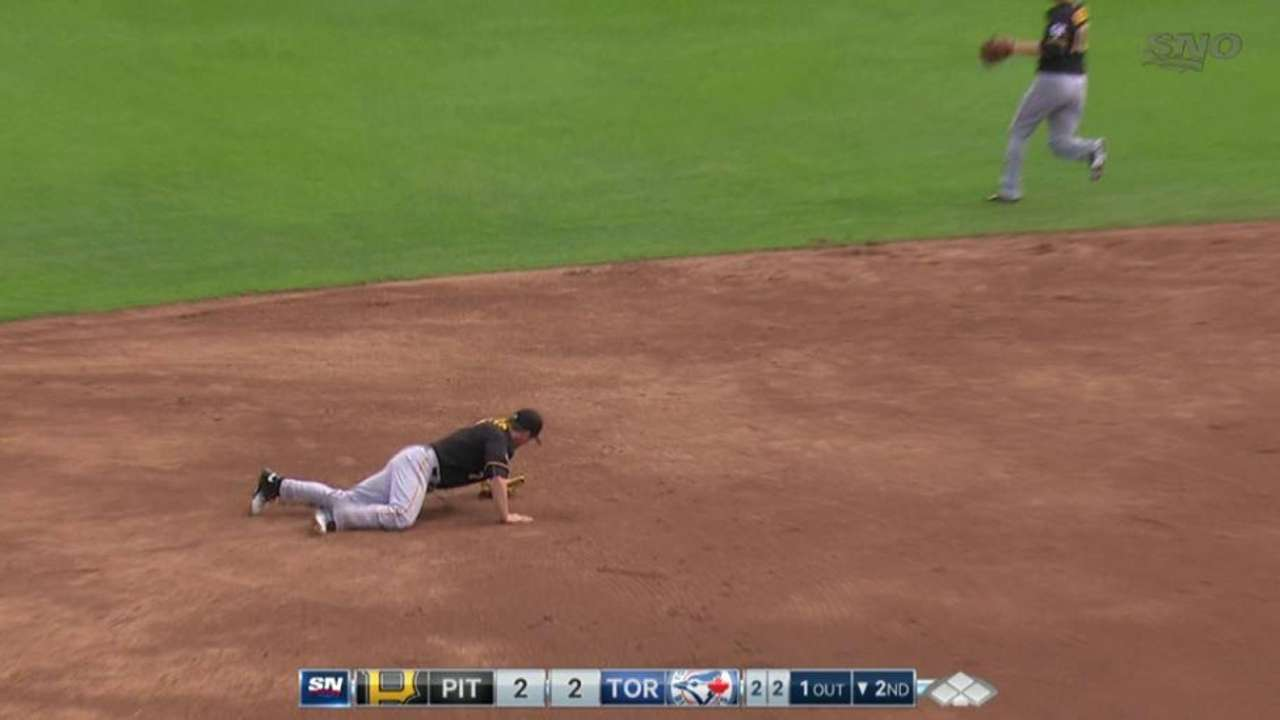 Freese's diving stop