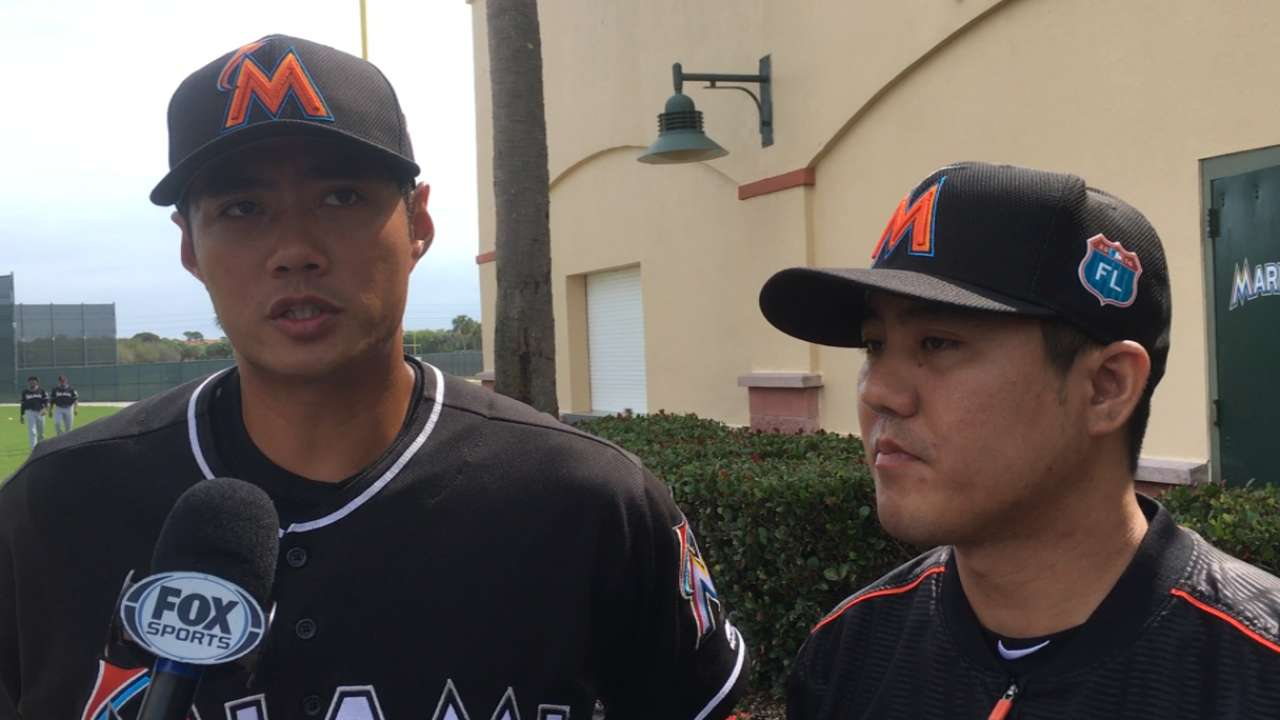 Marlins tab Chen for Opening Day start