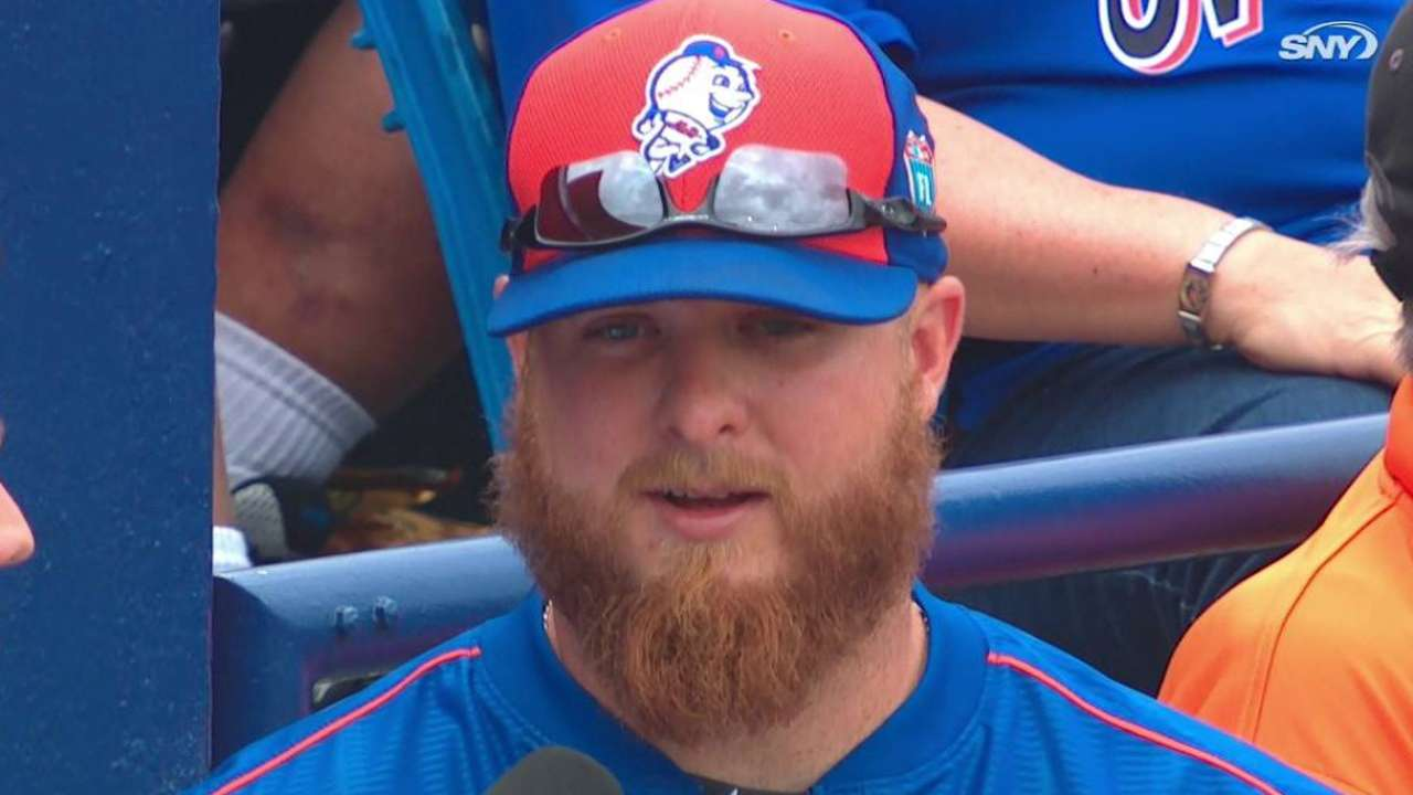 'Pumped up' Edgin pitches in Minor League game