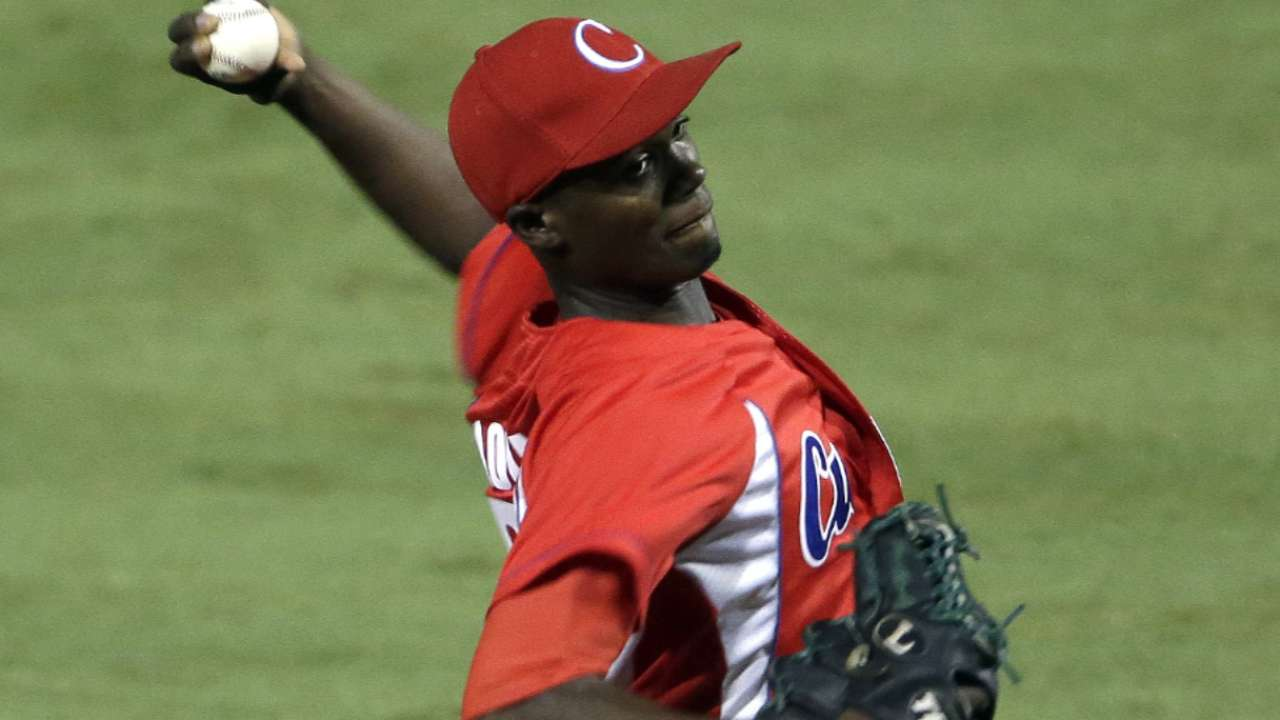 Cuban players to watch in series