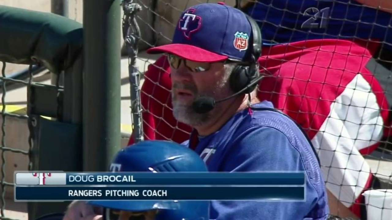 Brocail has simple message for his pitchers
