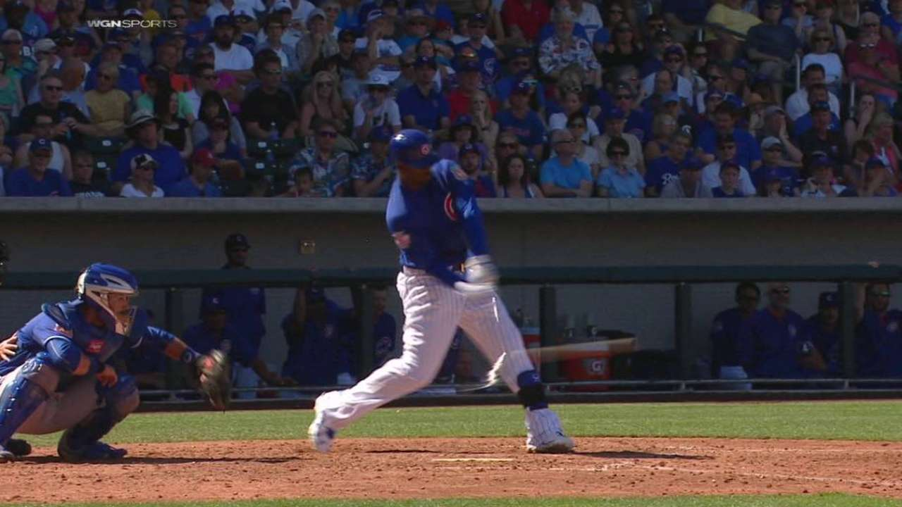 Soler, Heyward lead Cubs' bats vs. Royals