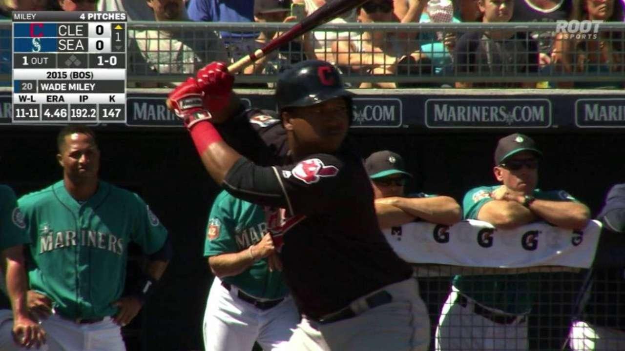 Ramirez's 1st-inning home run
