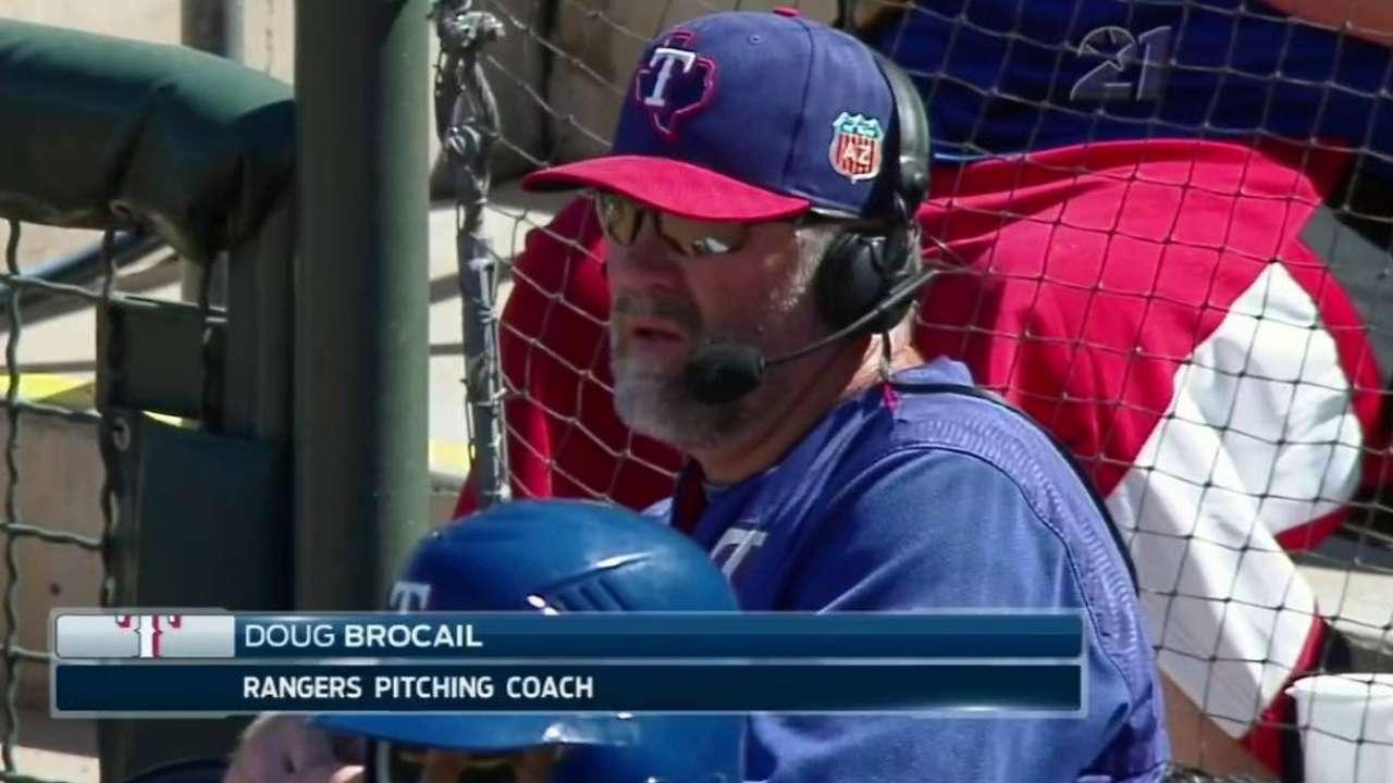 Brocail on Rangers' rotation