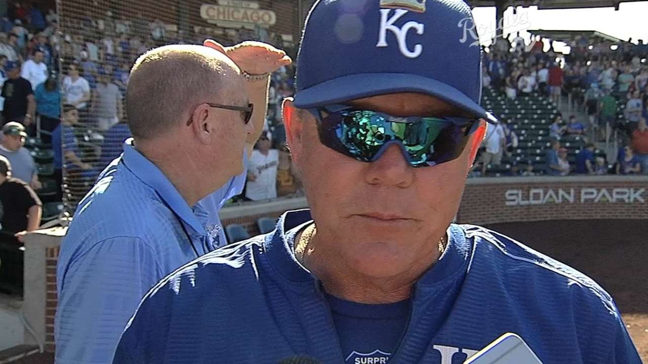 Yost, Kennedy on loss to Cubs