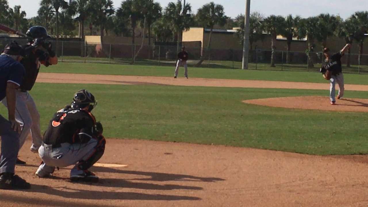 Chen, Nicolino get work vs. Minor Leaguers