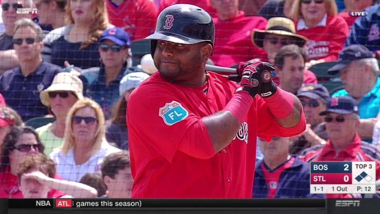 Sandoval's groundout plates run